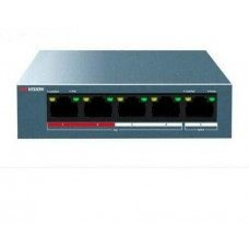 Switch PoE 4 cổng (1 cổng Uplink) Hikvision DS-3E0105P-E/M(B)
